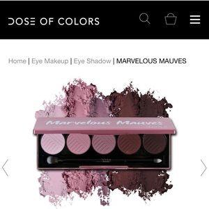NWIB Dose of Colors Marvelous Mauves Palette